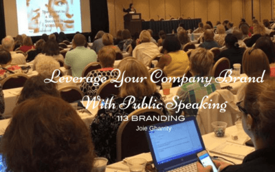 Leverage Your Company Brand With Public Speaking