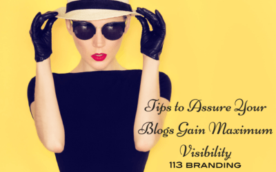 Tips to Assure Your Blogs Gain Maximum Visibility