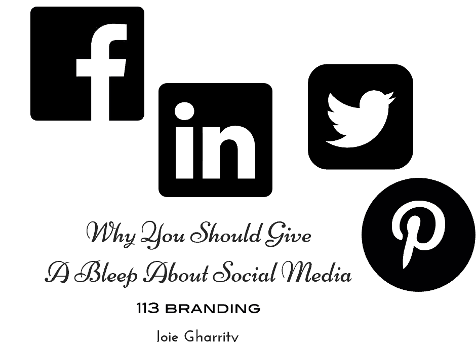 Why You Should Give A Bleep About Social Media